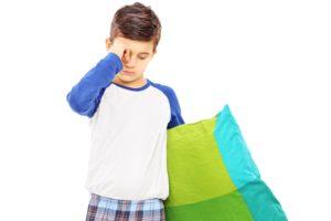 Peor calidad de sueño enuresis