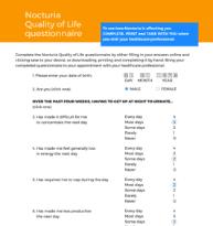 Nocturia-QoL-Questionnaire