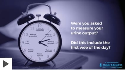 Measure your urine output